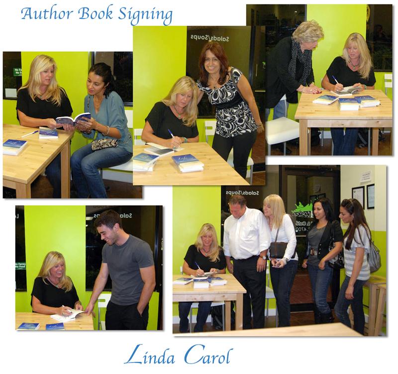Author Linda Carol book signing